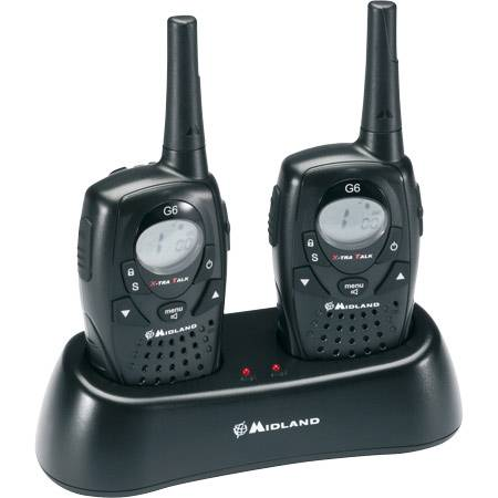 ALAN midland G6 CB PORTABLE PACK 2 ALAN G6 TALKIE WALKIE