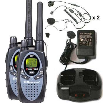 ALAN midland G7 CB PORTABLE PACK 2 ALAN G7 TALKIE WALKIE PMR446