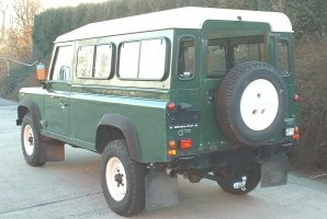 Attache remorque LAND ROVER Defender 110 LWB (sauf Pick-Up) - GDW-BOISNIER