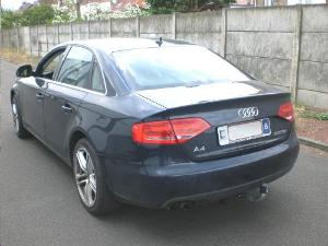 ATTELAGE AUDI A4 Berline 09/2007-> (8K) S4 - S-line - RDSO demontable sans outil - attache remorque WESTFALIA